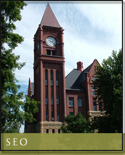 Jefferson County Courthouse Fairfield Iowa Attorney Lawyer Web Design